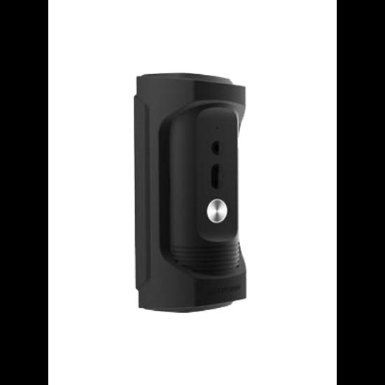 HIKVISION DS-KB8112-IM Egylakásos vandálbiztos IP video-kaputelefon kültéri egység; IR-megvilágítás; standard 48 VDC PoE