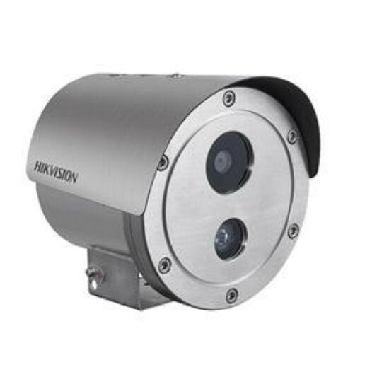 Hikvision DS-2XE6222F-IS/316L 2 MP WDR robbanásbiztos EXIR fix IP csőkamera hang be- és kimenet korrózióálló kivitel