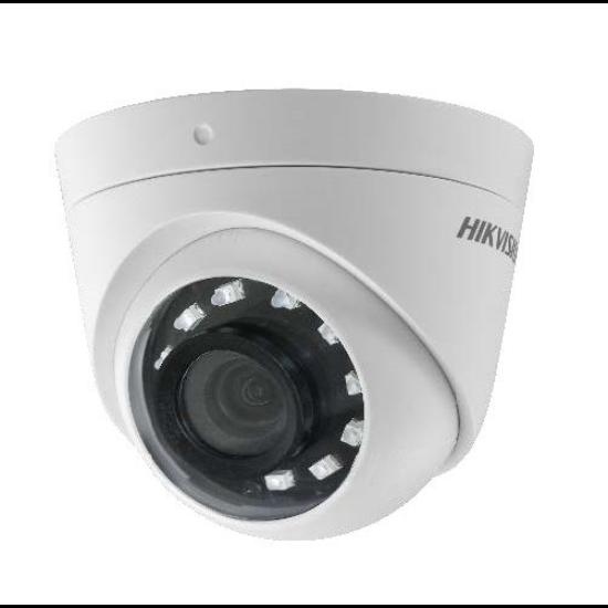 Hikvision DS-2CE56D0T-I2PFB 2 MP THD fix IR dómkamera; TVI/AHD/CVI/CVBS kimenet; OSD menü; beépített balun