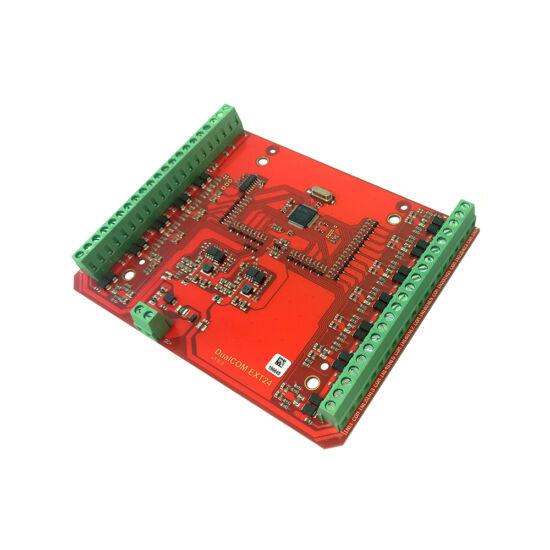 TELL DUALCOM-EXT24-D DUALCOM EXT24-D 24 bemenetes bővítőmodul DUALCOM SIA IP termékhez