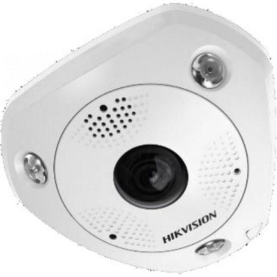 HIKVISION DS-2CD6365G0E-IVS 6 MP 360° vandálbiztos IR Smart IP panorámakamera; hang/riasztás be-/kimenet; mikrofon/hangszóró