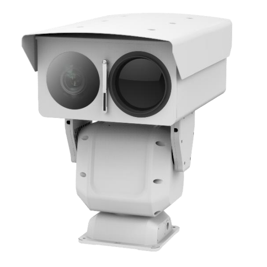 HIKVISION DS-2TD8166-100C2F-V2 IP hő- WDR forgózsámolyos kamera; ±8°C; -20°C-150°C