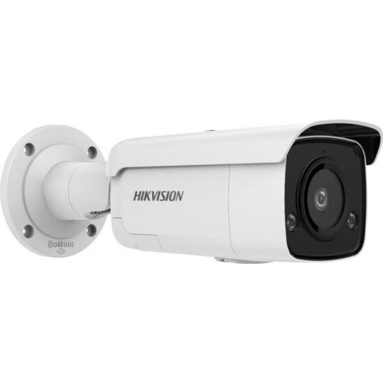 HIKVISION DS-2CD2T26G2-ISU-SL 2 MP WDR fix EXIR AcuSense IP csőkamera; mikrofon; fény- és hangriasztás; riasztás I/O