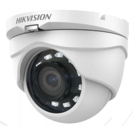 HIKVISION DS-2CE56D0T-IRMF-2-8MM 2 MP THD fix IR dómkamera; TVI/AHD/CVI/CVBS kimenet