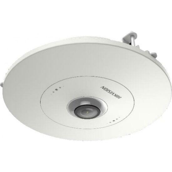 HIKVISION DS-2CD63C5G0E-S-RC 12 MP 360° IR Smart IP panorámakamera; hang és riasztás be- és kimenet; beépített mikrofon/hangszóró