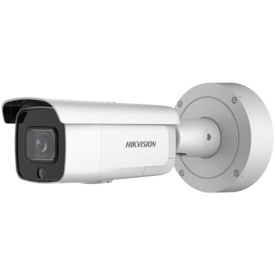 HIKVISION DS-2CD2646G2-IZSU-SL 5MP@20fps/4MP@25fp AcuSense WDR motoros zoom EXIR IP csőkamera; mikrofon; fény/hangriasztás