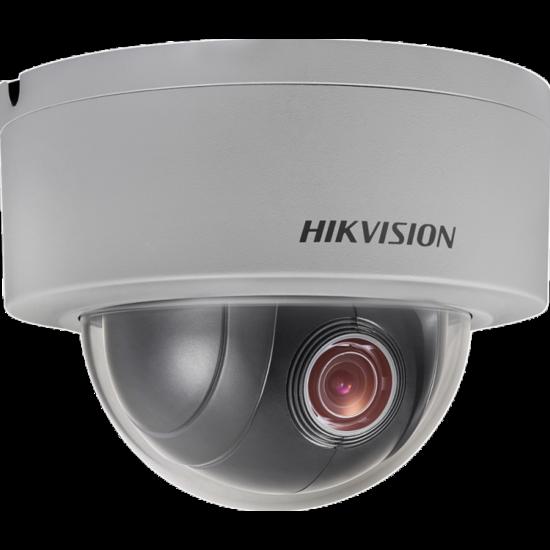 HIKVISION DS-2DE3304W-DE 3 MP mini IP PTZ dómkamera; 4x zoom