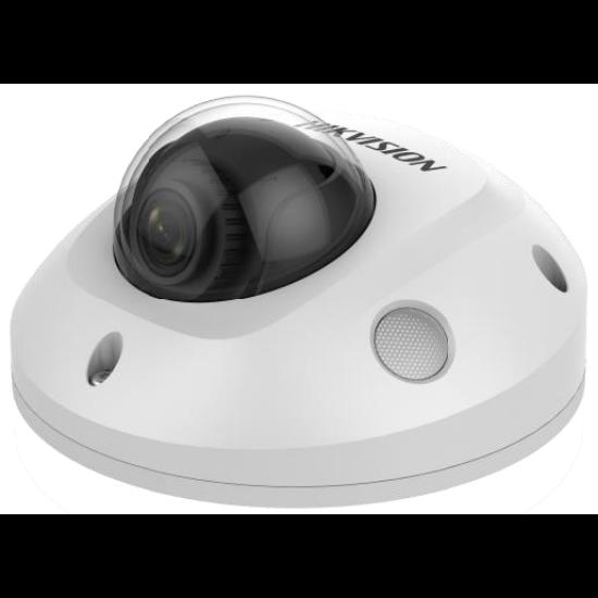 Hikvision DS-2CD2563G0-IS 6 MP WDR fix EXIR IP mini dómkamera hangkimenet és mikrofon