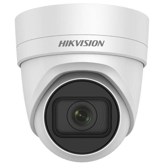 HIKVISION DS-2CD2H23G0-IZS 2 MP WDR motoros zoom EXIR IP dómkamera; hang be- és kimenet