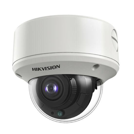 HIKVISION DS-2CE56D8T-VPIT3ZF 2 MP THD WDR motoros zoom EXIR dómkamera; OSD menüvel; TVI/AHD/CVI/CVBS kimenet