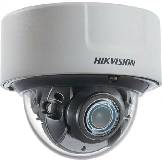 HIKVISION DS-2CD51C5G0-IZS 12 MP DarkFighter motoros zoom IR Smart IP dómkamera; hang be- és kimenet