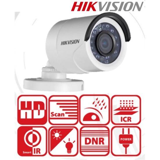 Hikvision 4in1 Analóg csőkamera - DS-2CE16D0T-IRF (2MP, 3,6mm, kültéri, IR20m, D & N(ICR), IP66, DNR)