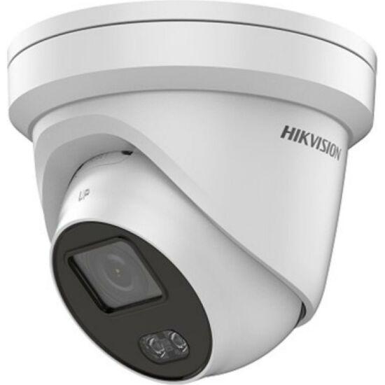 HIKVISION DS-2CD2347G1-LU 4 MP WDR fix EXIR ColorVu IP dómkamera; beépített mikrofonnal