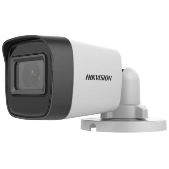 Hikvision DS-2CE16H0T-ITPF (C) 5 MP THD fix EXIR csőkamera; OSD menüvel; TVI/AHD/CVI/CVBS kimenet