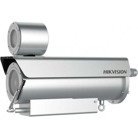 HIKVISION DS-2XE6482F-IZHRS 8 MP WDR varifokális robbanásbiztos EXIR IP csőkamera; hang be- és kimenet