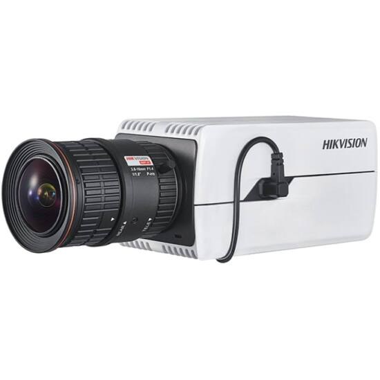 Hikvision DS-2CD7046G0 4 MP DeepinView IP WDR Darkfighter boxkamera hang be- és kimenet