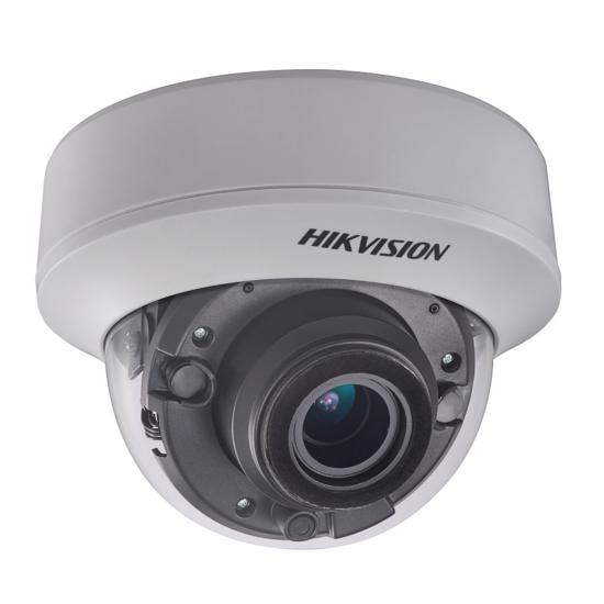 Hikvision DS-2CE56H0T-ITZF 5 MP THD motoros zoom EXIR dómkamera OSD menüvel TVI/AHD/CVI/CVBS kimenet