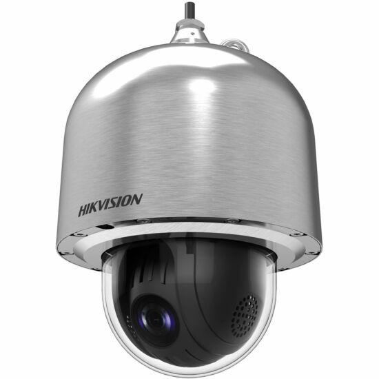 HIKVISION DS-2DF6223-CX 2 MP WDR robbanásbiztos IP PTZ dómkamera; rozsdamentes acél; 23x zoom; 230 VAC