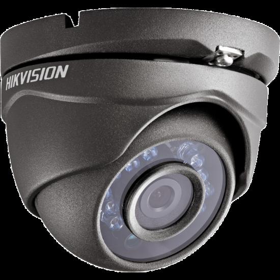 Hikvision DS-2CE56D0T-IRMF-G 2 MP THD fix IR dómkamera TVI/AHD/CVI/CVBS kimenet grafitszürke