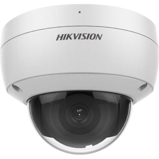 HIKVISION DS-2CD2146G2-ISU 5MP@20fps/4MP@25fps AcuSense WDR fix EXIR IP dómkamera; hang/riasztás be- és kimenet