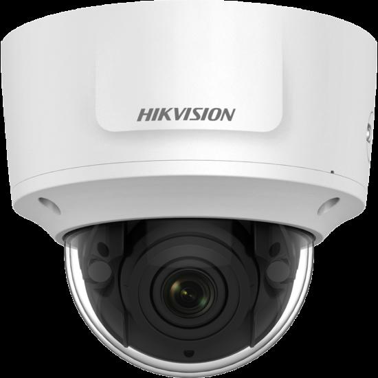 HIKVISION DS-2CD2765FWD-IZS 6 MP WDR motoros zoom EXIR IP dómkamera; hang be- és kimenet