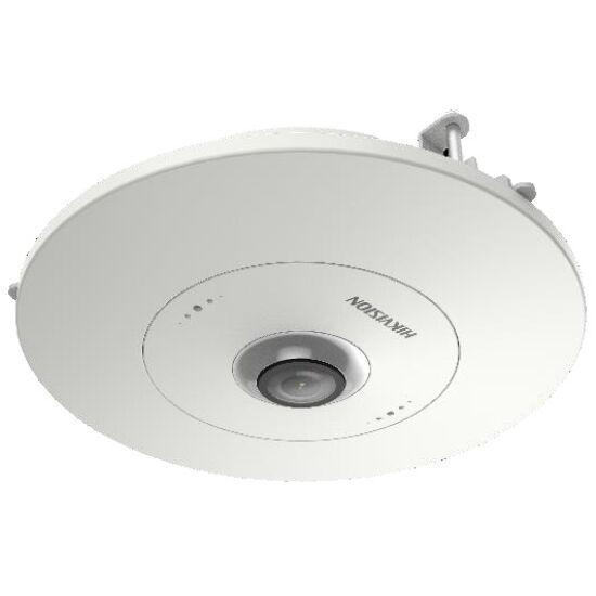 HIKVISION DS-2CD6365G0E-S-RC 6 MP 360° IP panorámakamera; hang és riasztás be- és kimenet; beépített mikrofon