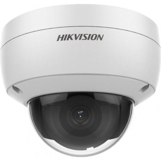 HIKVISION DS-2CD2126G2-ISU 2 MP AcuSense WDR fix EXIR IP dómkamera; hang/riasztás be- és kimenet