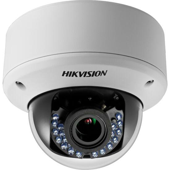 HIKVISION DS-2CE56D0T-VPIR3F 2 MP THD varifokális IR dómkamera; TVI/AHD/CVI/CVBS kimenet