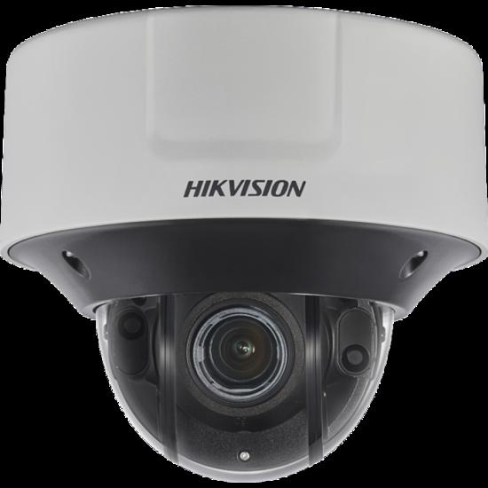 HIKVISION DS-2CD5546G0-IZHSY 4 MP WDR DarkFighter motoros zoom EXIR Smart IP dómkamera; hang és I/O; rozsdamentes