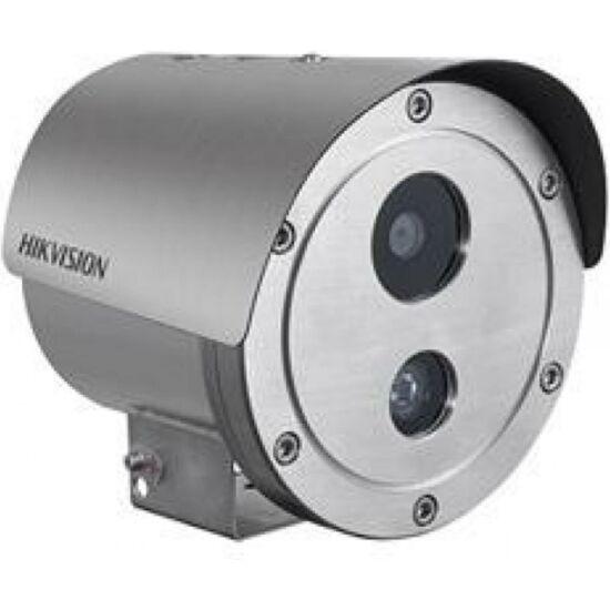 HIKVISION DS-2XE6222F-IS 2 MP WDR robbanásbiztos EXIR fix IP csőkamera; hang be- és kimenet