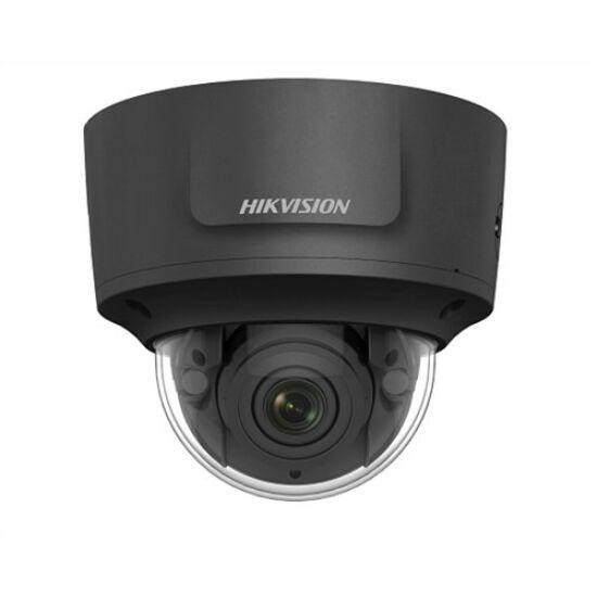 HIKVISION DS-2CD2745FWD-IZS-B-2-8-12 4 MP WDR motoros zoom EXIR IP dómkamera; hang be- és kimenet; fekete