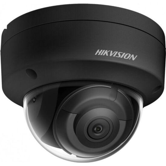 HIKVISION DS-2CD2163G2-IS-B 6 MP WDR fix EXIR IP dómkamera; hang I/O; riasztás I/O; fekete