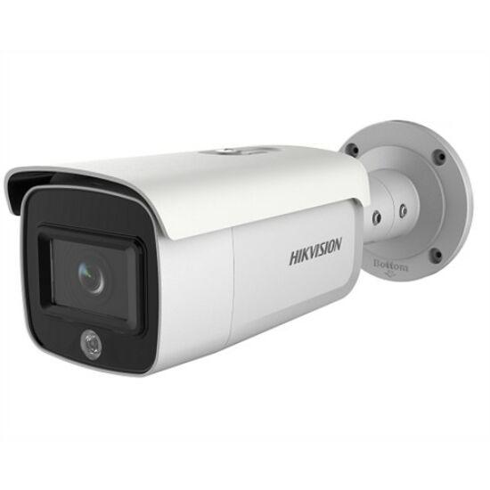 Hikvision DS-2CD2T26G1-4I/SL 2 MP WDR fix EXIR AcuSense IP csőkamera; 80 m IR-távolsággal; hang- és fényjelzés