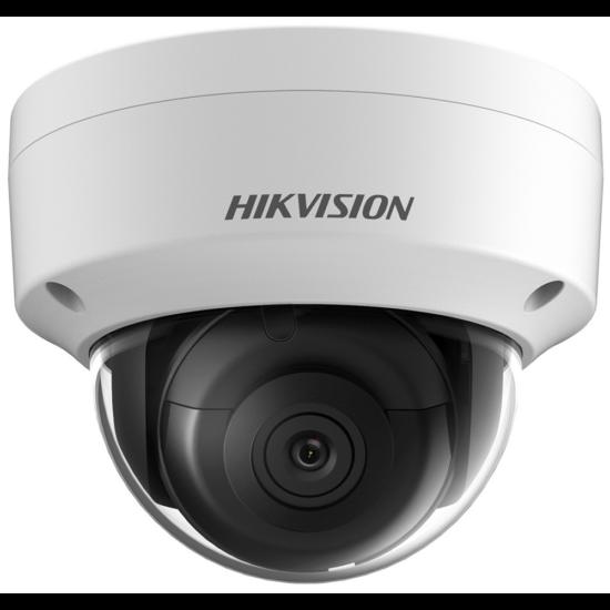 Hikvision DS-2CD2145FWD-IS 4 MP WDR fix EXIR IP dómkamera hang be- és kimenet