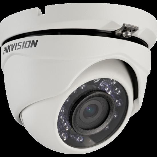 Hikvision DS-2CE56D0T-IRMF 2 MP THD fix IR dómkamera; TVI/AHD/CVI/CVBS kimenet