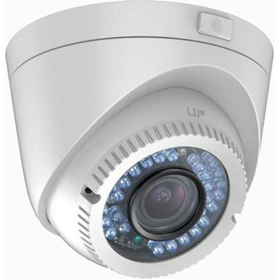 Hikvision DS-2CE56D0T-VFIR3F 2 MP THD varifokális IR dómkamera; TVI/AHD/CVI/CVBS kimenet