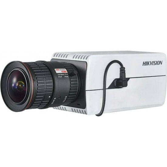 HIKVISION DS-2CD7046G0 4 MP DeepinView IP WDR Darkfighter boxkamera; hang be- és kimenet