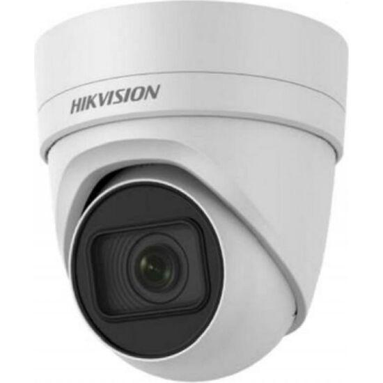 HIKVISION DS-2CD2H45FWD-IZS 4 MP WDR motoros zoom EXIR IP dómkamera; hang be- és kimenet